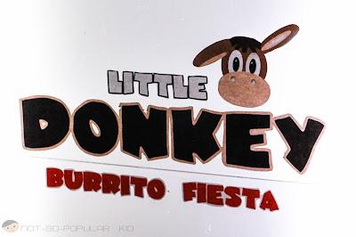 Little Donkey Burrito Fiesta Logo