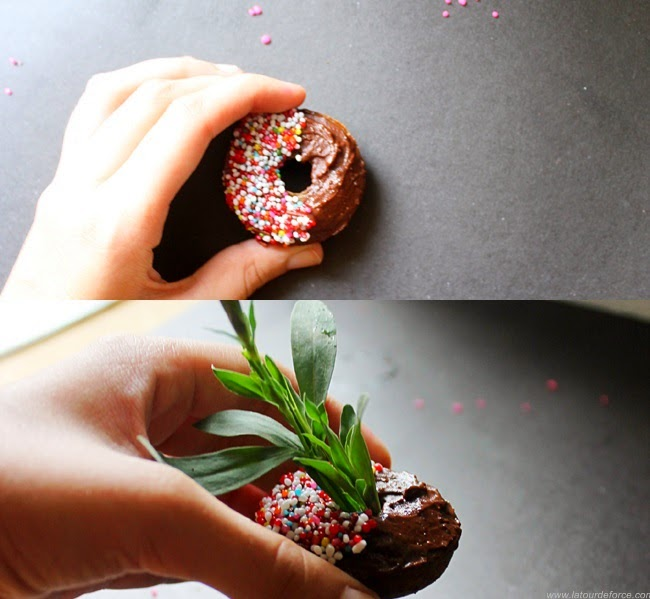 chocolate and cinnamon baked donuts recipe