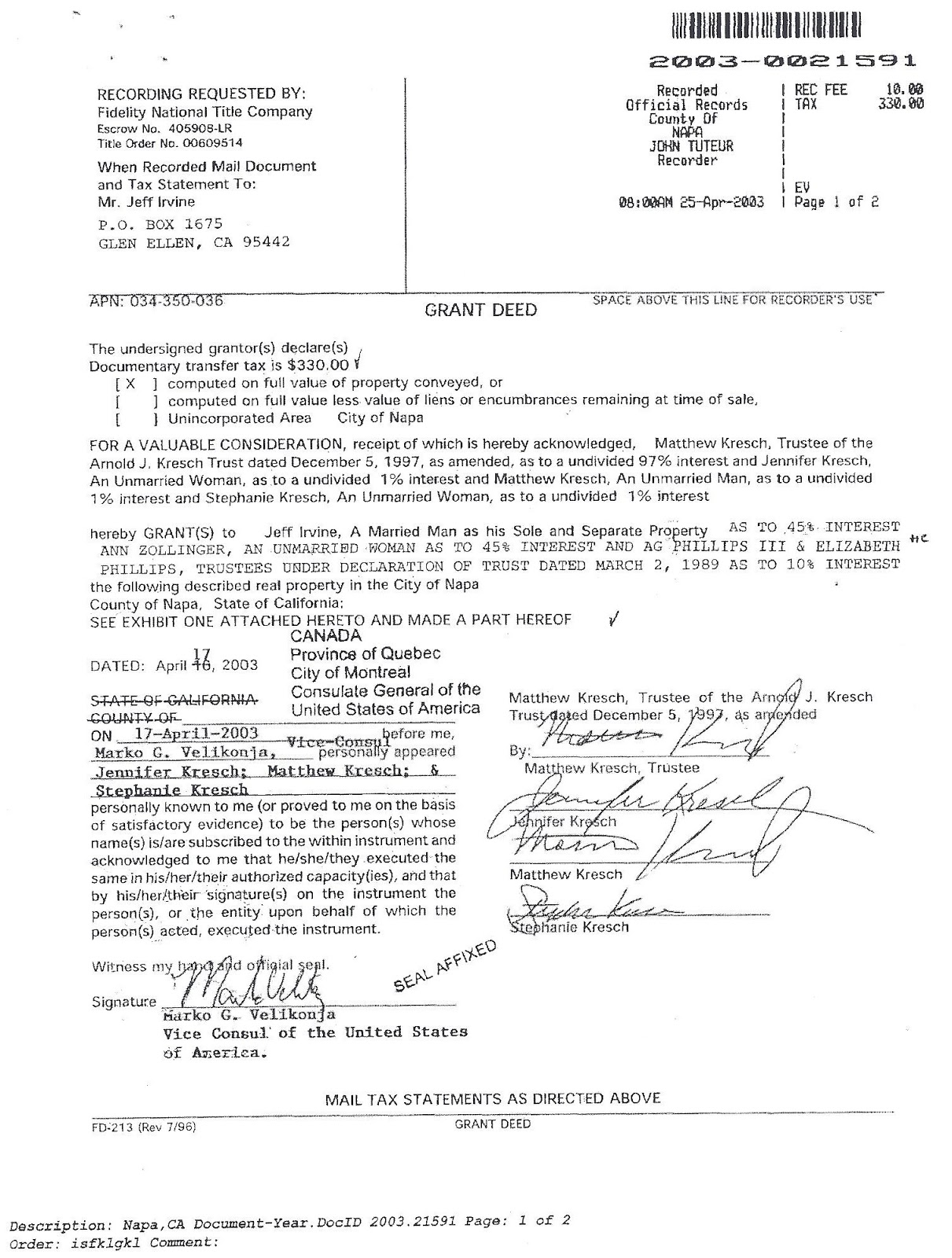 Officer Title On Deed Pictures to Pin PinsDaddy – Grant Deed Form