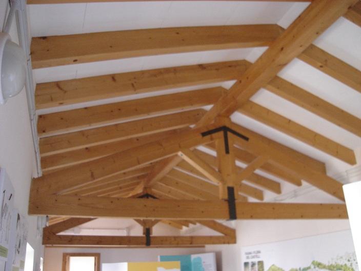Alma de herrero estructura de tejado - Estructuras de madera para tejados ...
