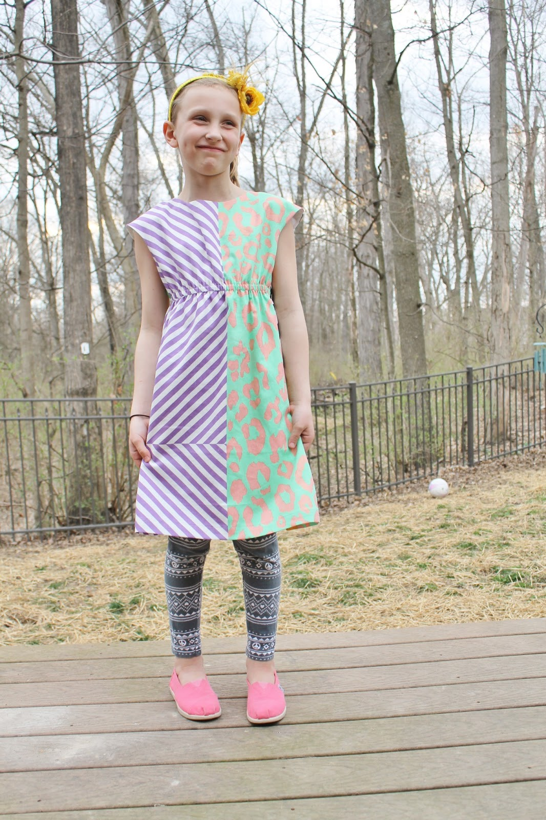 the roller skate dress sewn by imagine gnats