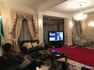 First picture of Buhari surfaces online after 68 days in London [PHOTO]