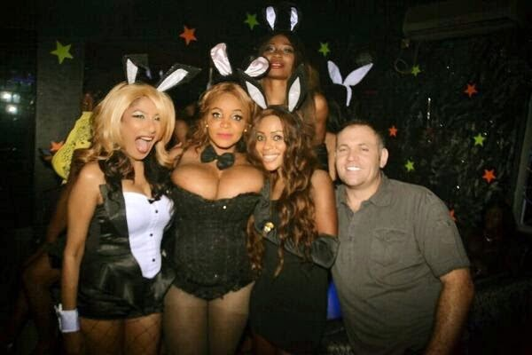Cossy Orjiakor Shares Boobs revealing Sexy Photos From her Easter Bunny Party 2
