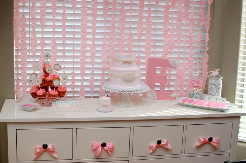 Polka Dot Birthday Supplies, Decor, Clothing: Ruffles, Pearls and