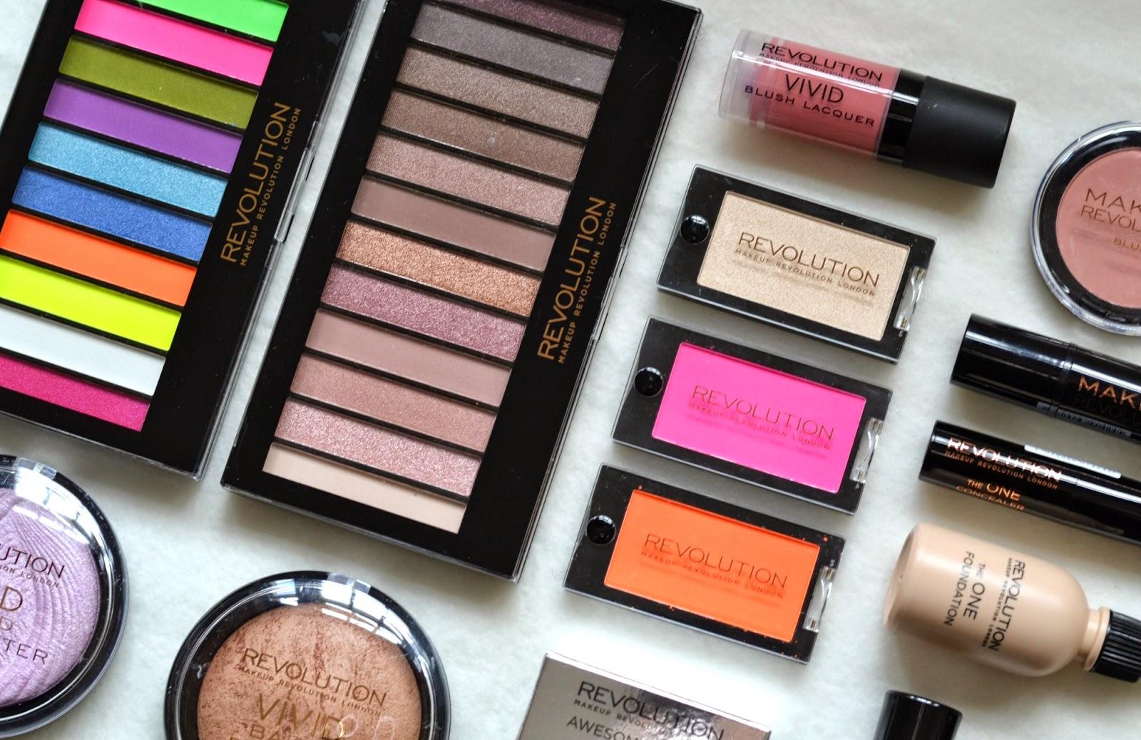 New Brand Alert Makeup Revolution Items
