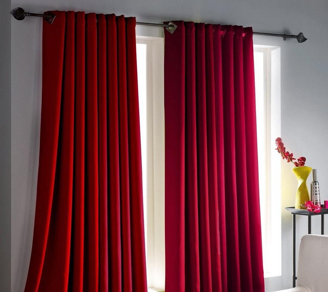 cortina decoracao cortinas vermelhas.jpg #750516 1100 980