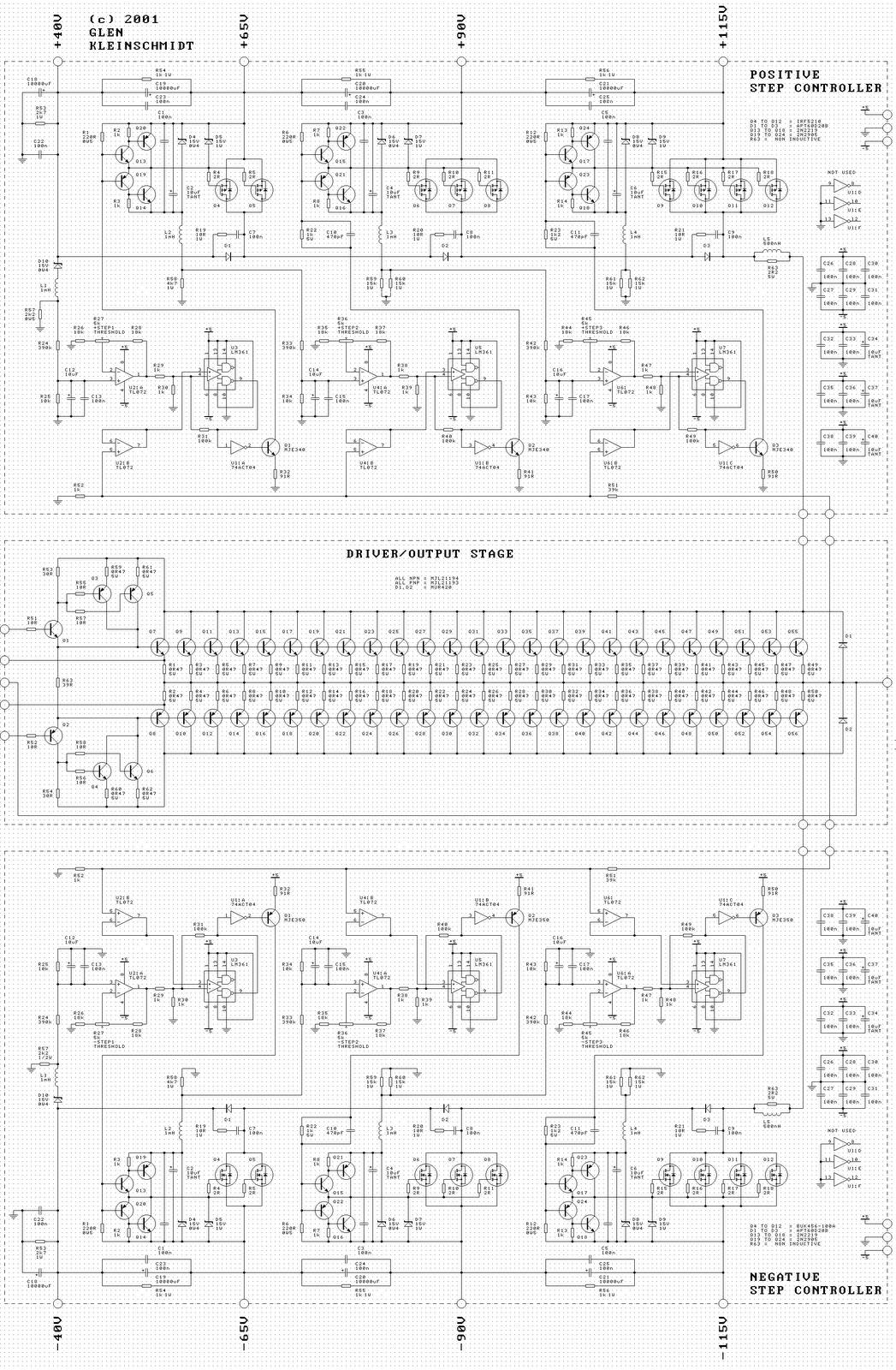 schema ampli puissance mosfet 1000w wiring libraryschema ampli puissance mosfet 1000w