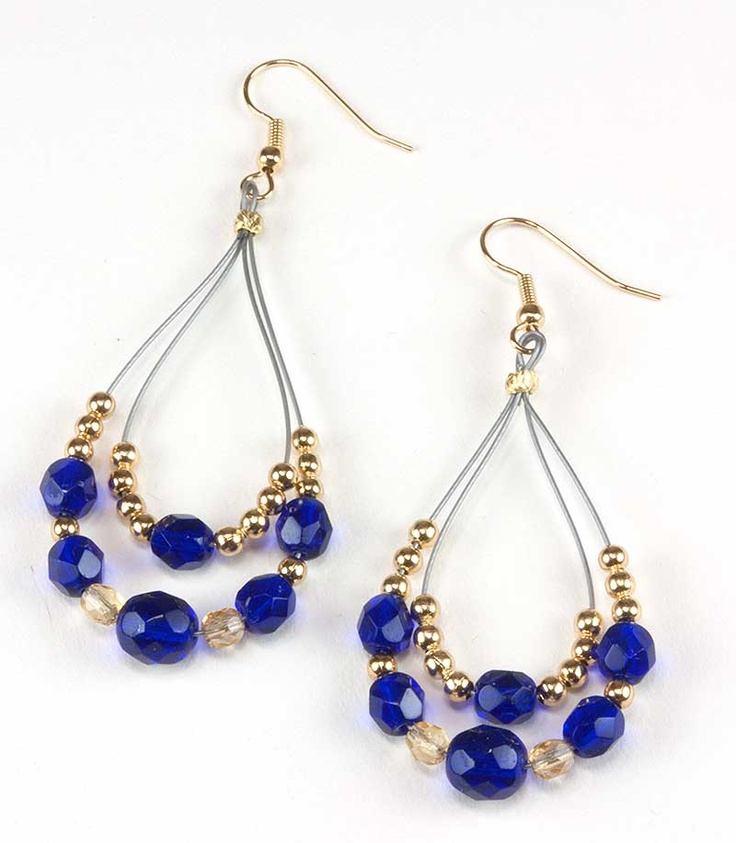Beautiful Blue Earring