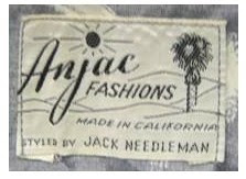 Anjac label