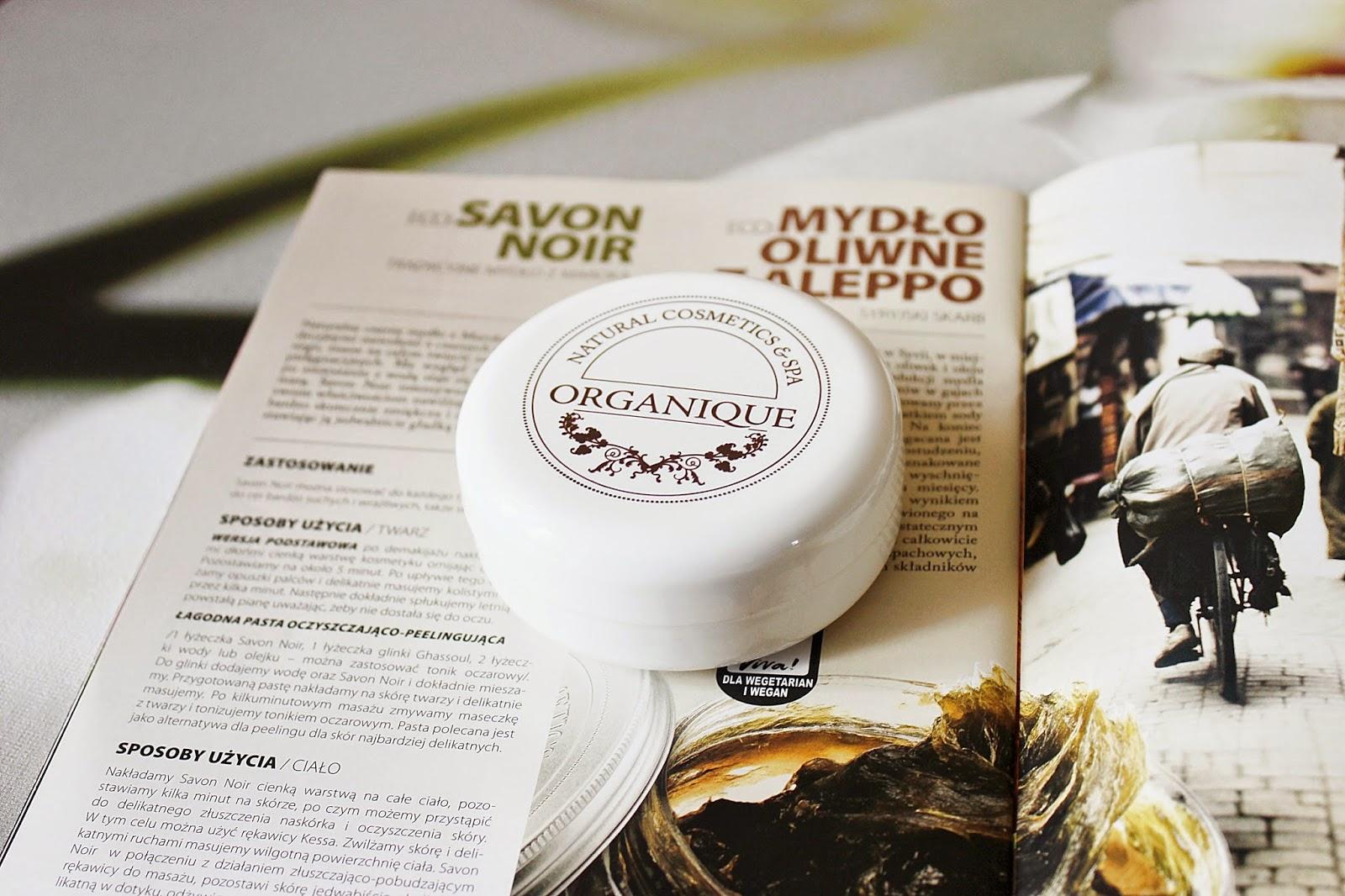 Organique, czarne mydło, Savon Noir, mydło w paście, Maroko