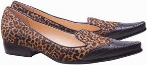 Luiza Barcelos sapatos mocassim femininos pelo mini onça inverno 2014