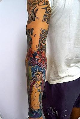 Tatuagens no Braço Todo