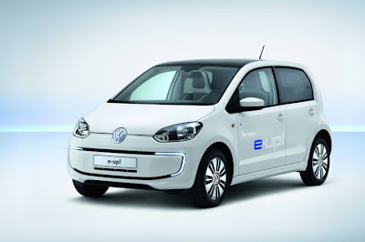 Volkswagen&#39;s All-Electric e-Up Revealed