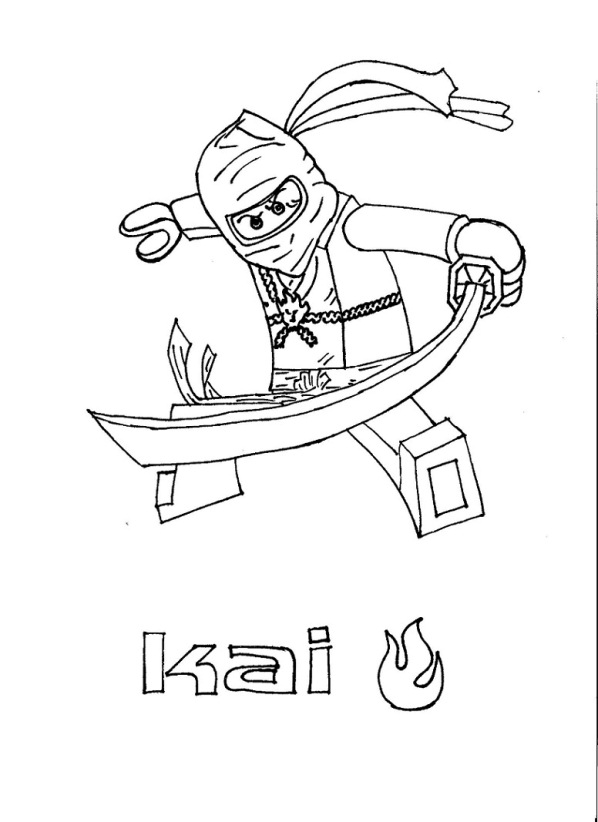 lego ninjago coloring pages free printable pictures