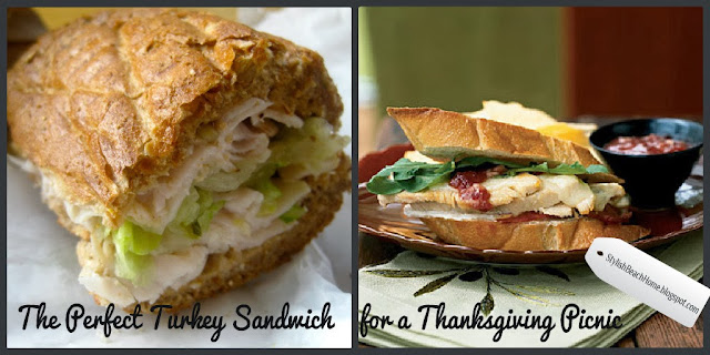 Turkey Sandwich Thanksgiving Picnic