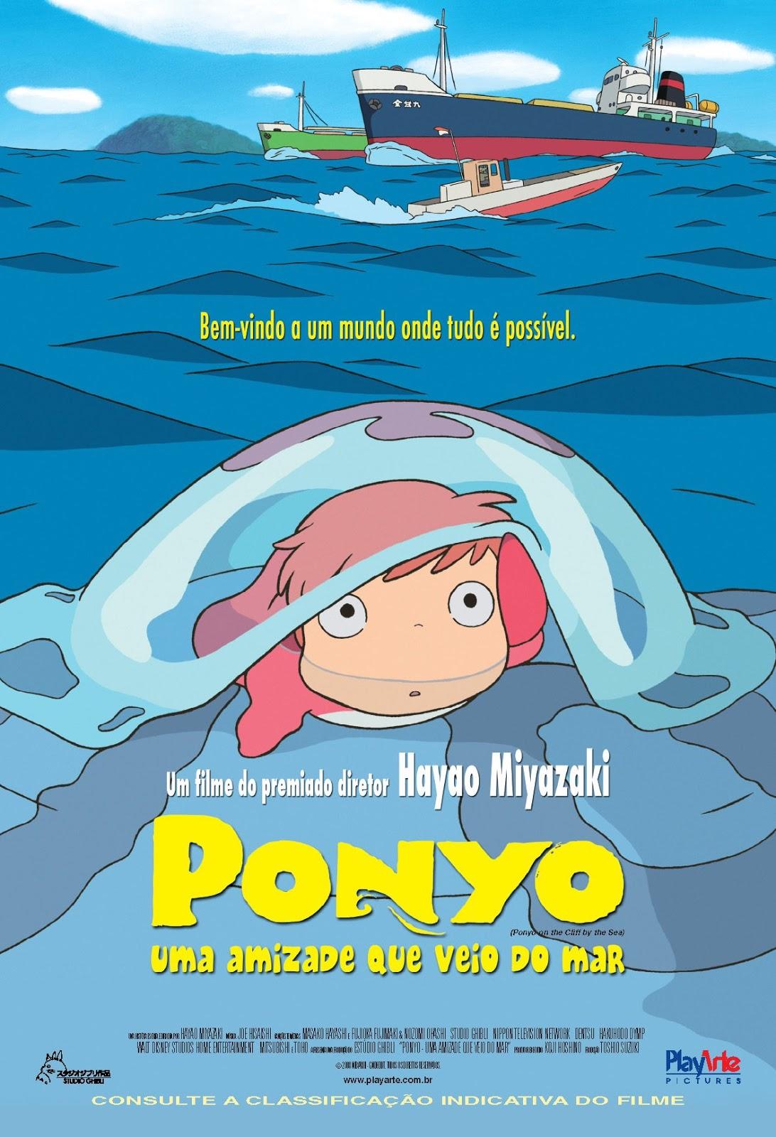 Ponyo: Uma Amizade que Veio do Mar – Legendado (2008)