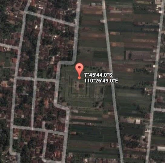 Koordinat Lokasi Candi Sambisari_siparjo.com