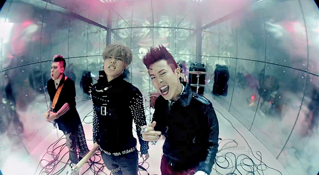 Block B rocker UKwon and P.O. Very Good mv 1