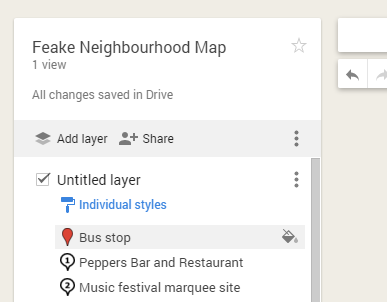 how to delete your own map in google