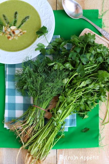 Zupa ze szparagów-przepis