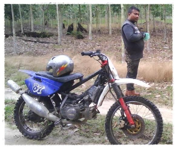 Motor Poswan Modifikasi Foto Motor Poswan Modifikasi Modifikasi
