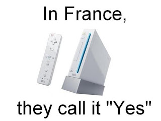 in france they call it yes wii