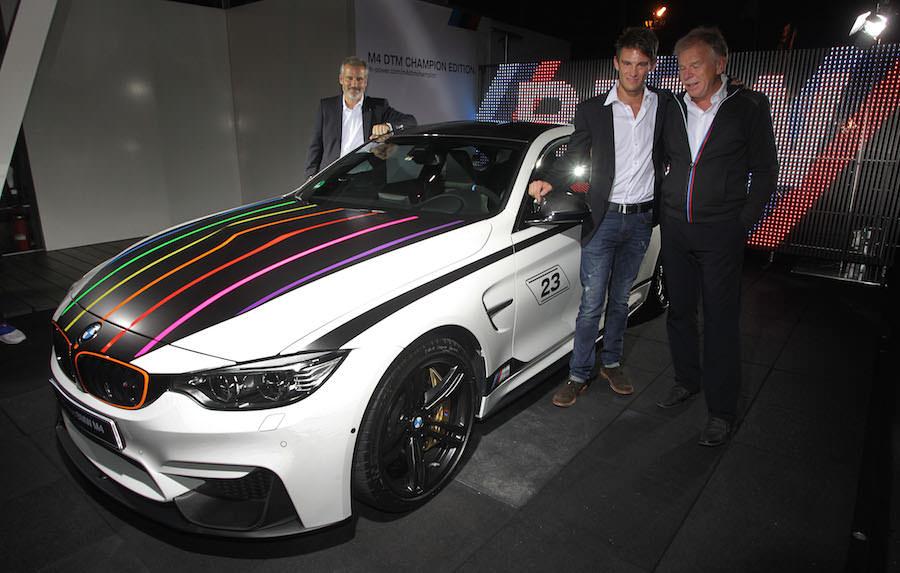 BMWがDTMタイトル獲得を記念した限定車「M4 DTMエディション」を発表