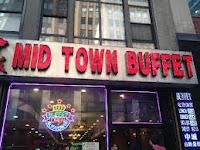 Comida de buffet en Nueva York