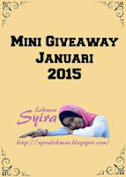 Mini Giveaway Januari 2015 by Syira Lokman