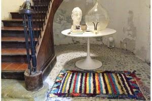 tapis boucherouite rayures