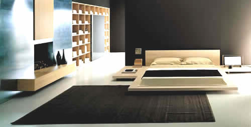 Diseo de Habitacin Minimalista por Bed Habits Decoracion de
