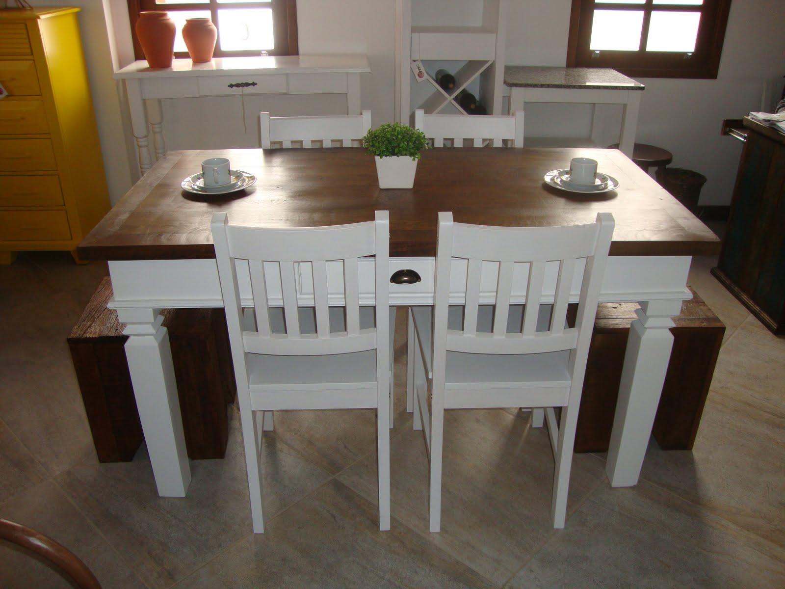 Casa Mix: Mesas de Jantar de Madeira de Demolção #C39608 1600x1200