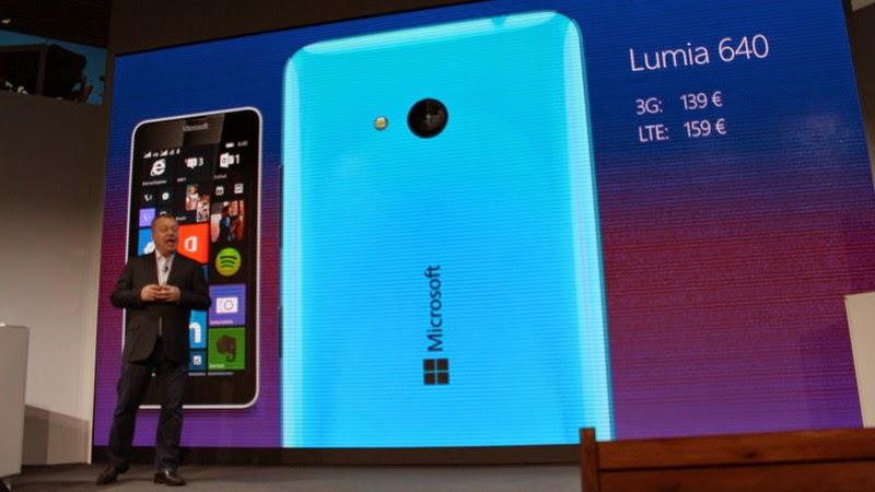 Lumia 640, Smartphone Pertama Cicipi Windows 10