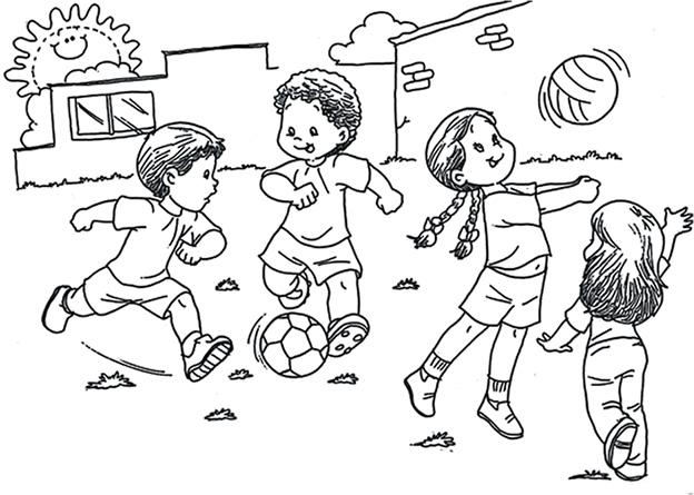 Imagenes y fotos: Dibujos Dia del Niño para Pintar, parte 2