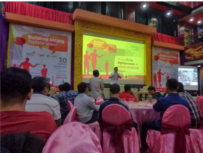 Seminar tentang Indigo Incubator
