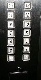 elevator tanpa angka 4, 13 dan 14 di Hong Kong