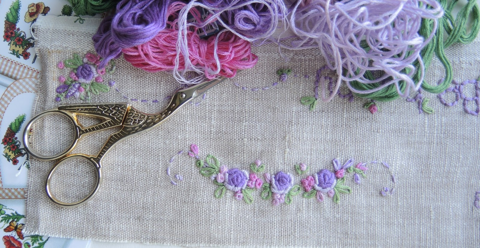 Вышивка рококо с фото 924