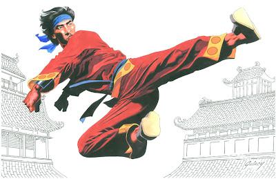 Imagen de Shang -Chi por Paul Gulacy