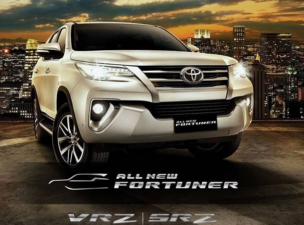 Toyota All New Fortuner 2016, Tanda Jadi 10 Juta