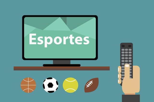 ESPORTES NA TV