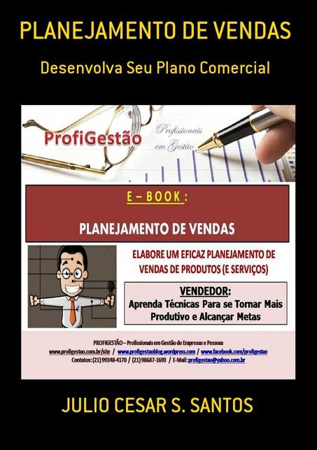"""Meu E-Book: """"PLANEJAMENTO DE VENDAS"""""""