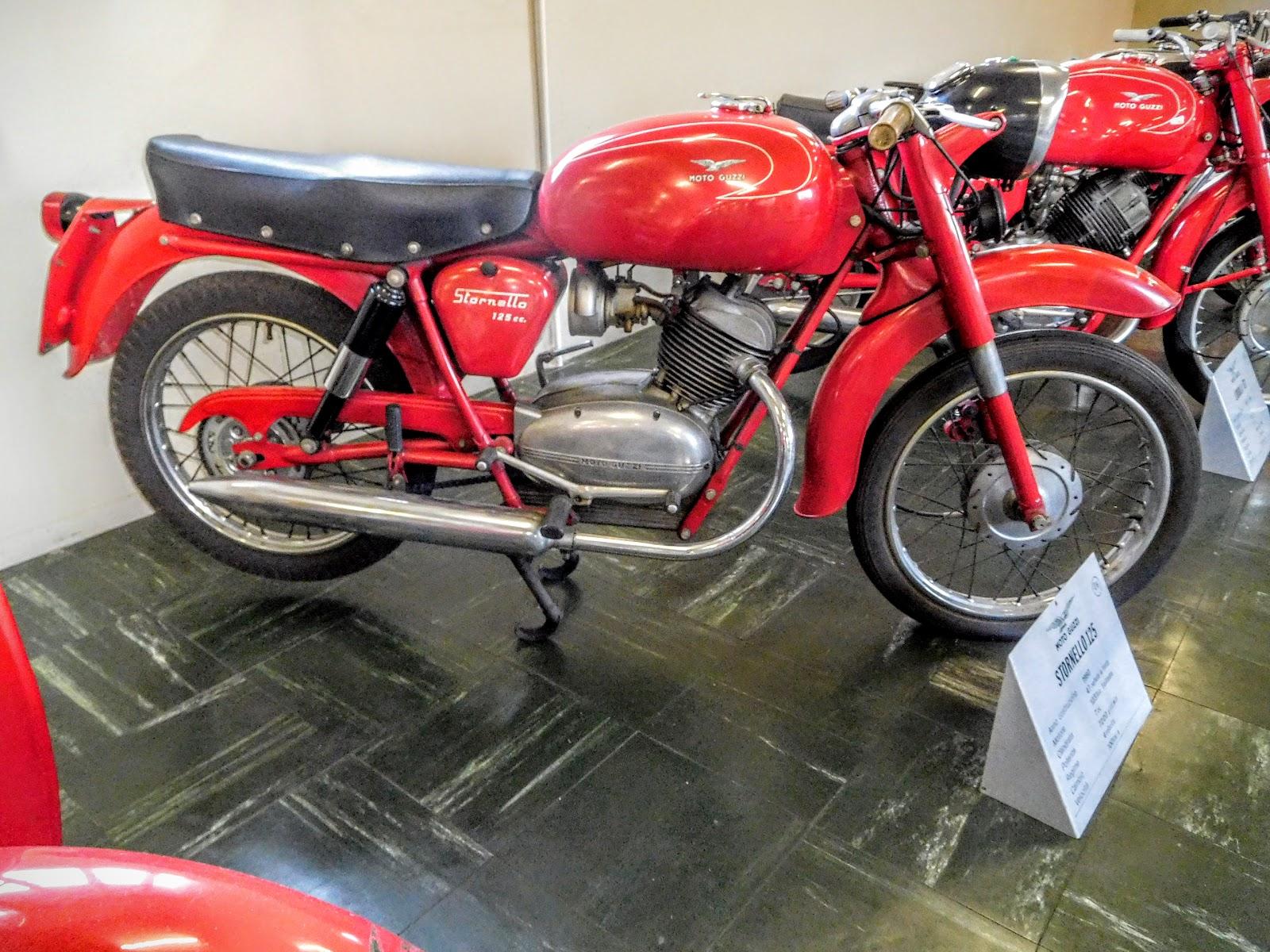 Tigho NYDucati: 1960 Moto Guzzi Stornello 125