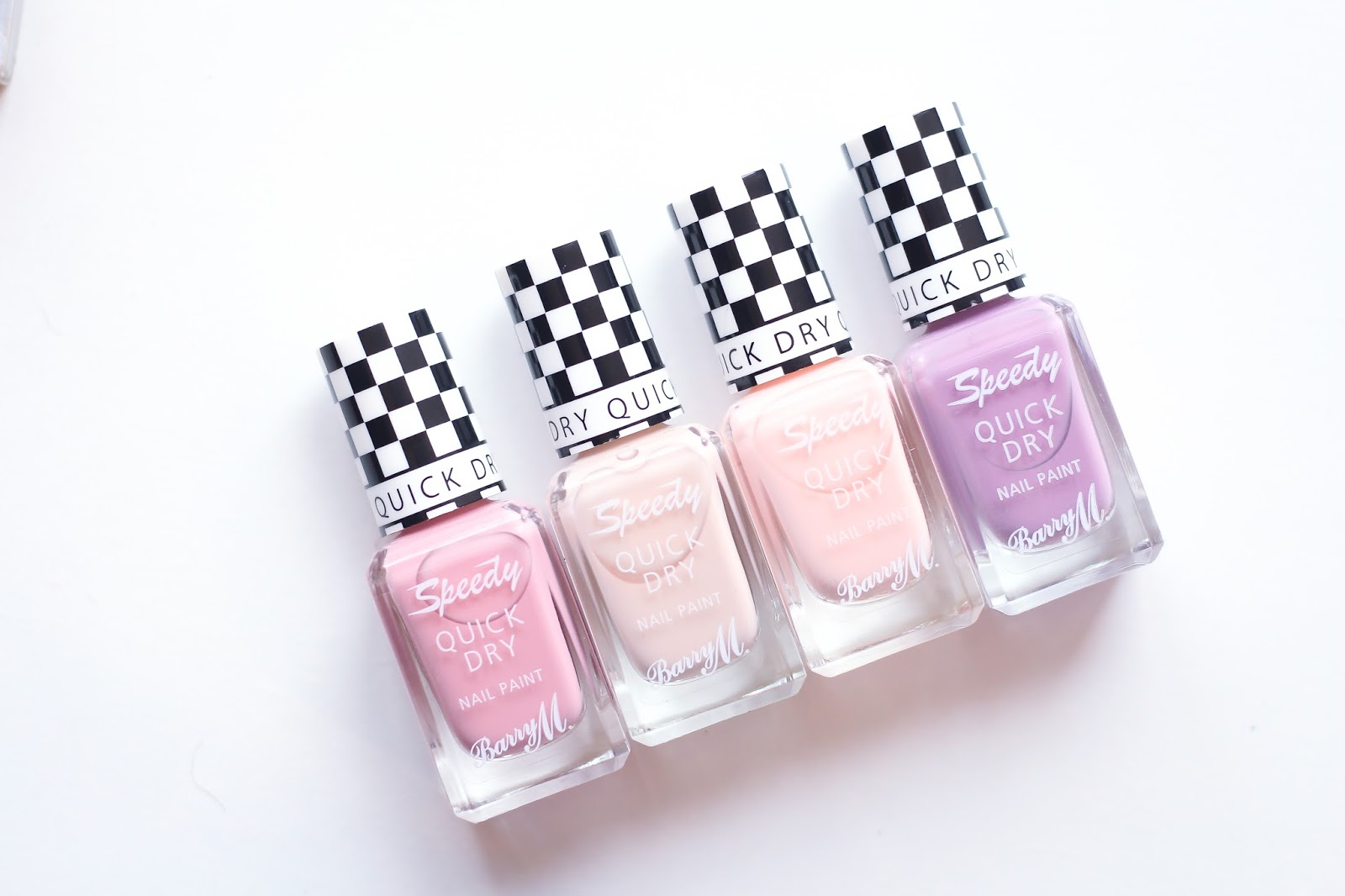 Barry M Speedy Quick Dry Nail Paint Freestyle, Winning Streak, In a flash, Personal Best