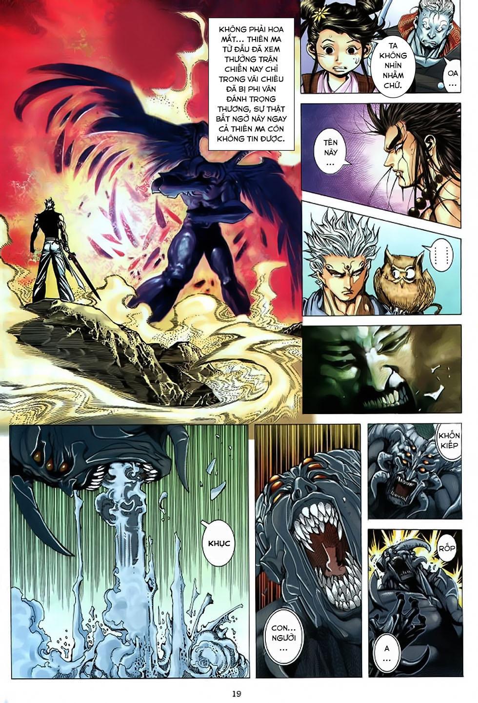 Chiến Thần Ký chap 39 - Trang 20