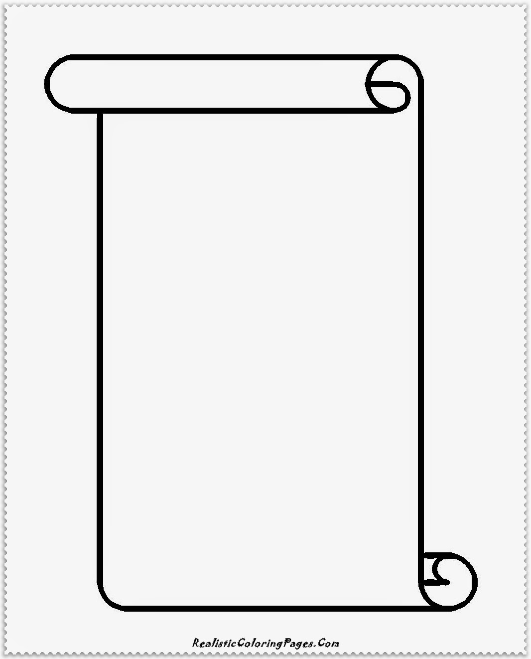 simple banner coloring pages