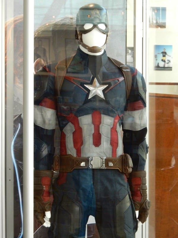 Captain America Avengers Age of Ultron film costume