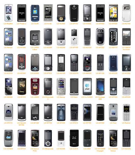 LG Mobile Phone Models