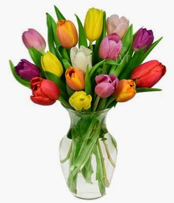 Rainbow Tulip Bouquet