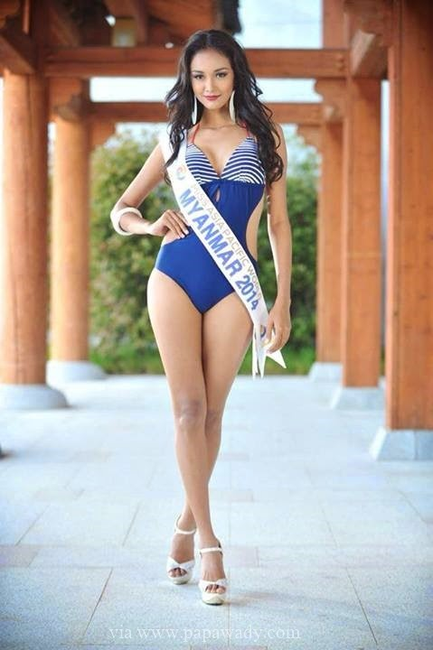 May Myat Noe - Beautiful Photos from Miss Asia Pacific 2014