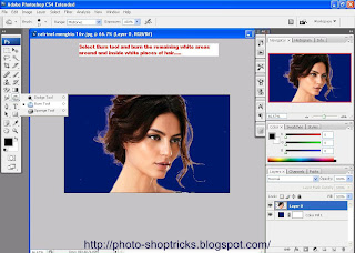 Photoshop Trick Removing Background